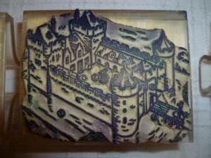 schoolstempel kasteel