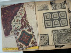 Antiek Smyrna patroonboek