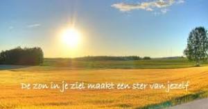zon in je ziel