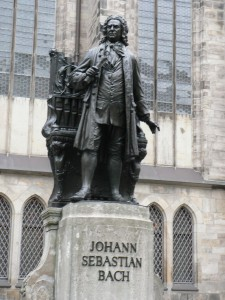 J.S. Bach (Standbeeld in Leipzig)