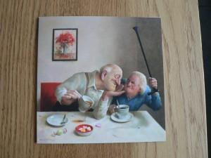 'Liefde van één kant' Marius van Dokkum