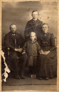 Cornelis en Trijntje met Andries en Trijntje
