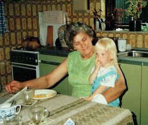 Oma en Frea zomer 1988