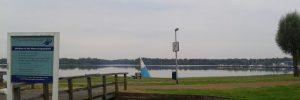 Het Hoornse meer om 07.35 uur