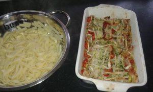 courgette zalm pasta