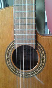 Mijn eigen 'Morgan guitar'