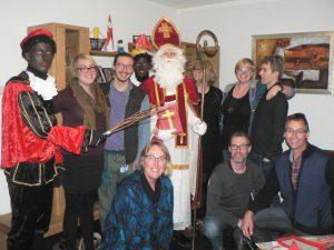 Sinterklaas aan de Boskamp